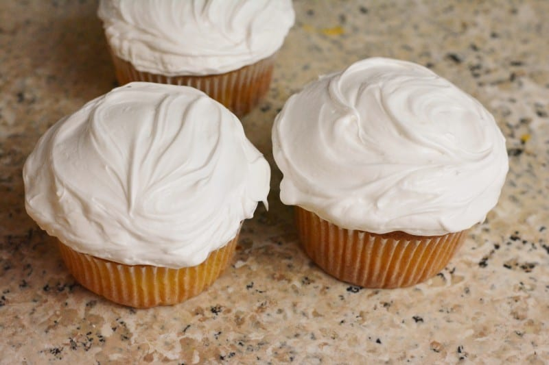 jellybean-flower-cupcake-iced