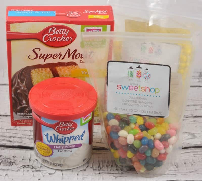 jellybean-flower-cupcake-ingredients