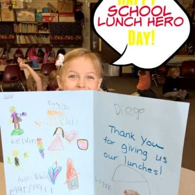 School Lunch Hero Day is May 1st