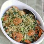 spinach-sausage-quinoa-recipe