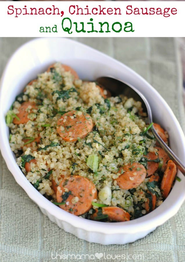 spinach-sausage-quinoa-recipe