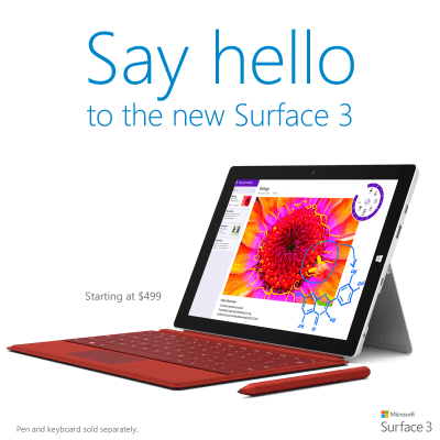 4 Reasons to get Surface 3 for Students