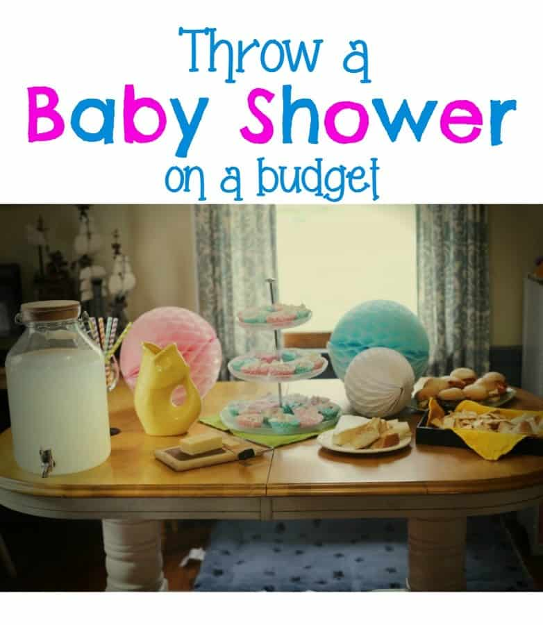 Great Throw Baby Shower Budget