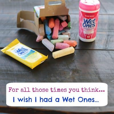 So many times: I Wish I had a Wet Ones