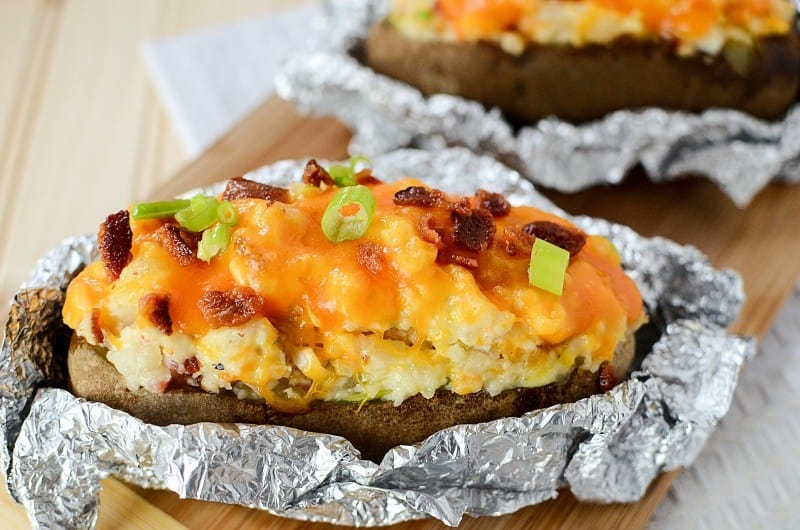 Twice Baked Potatoes- This Mama Loves