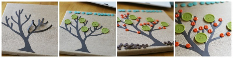 cricut-canvas-tree-buttons