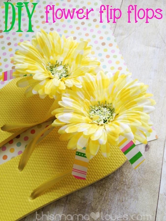 diy-flower-flip-flops