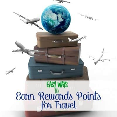 Easy ways to earn rewards points for travel