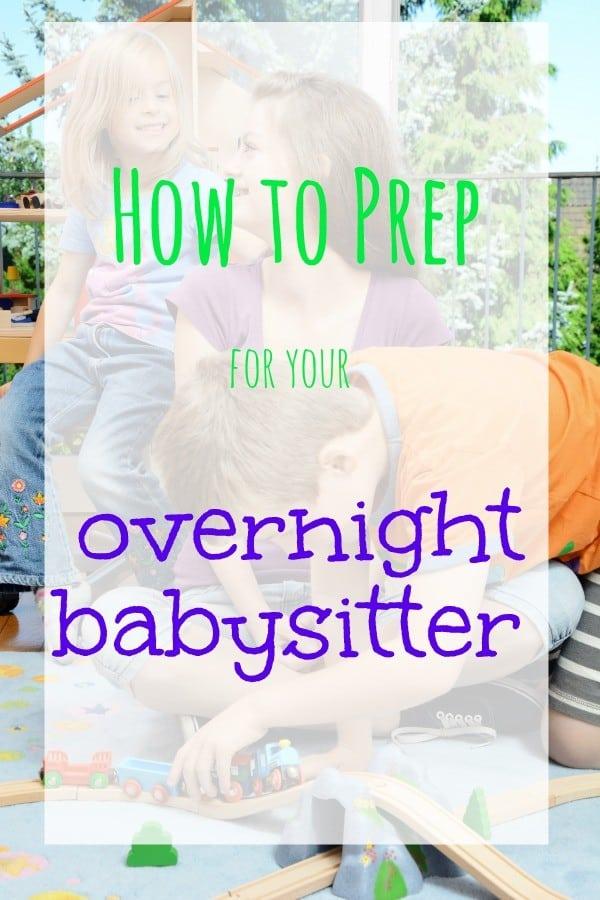 how-to-prep-overnight-babysitter