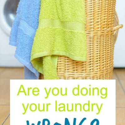 Are you doing your laundry wrong?