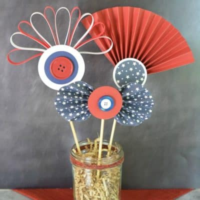 Red, White & Blue Patriotic Paper Craft