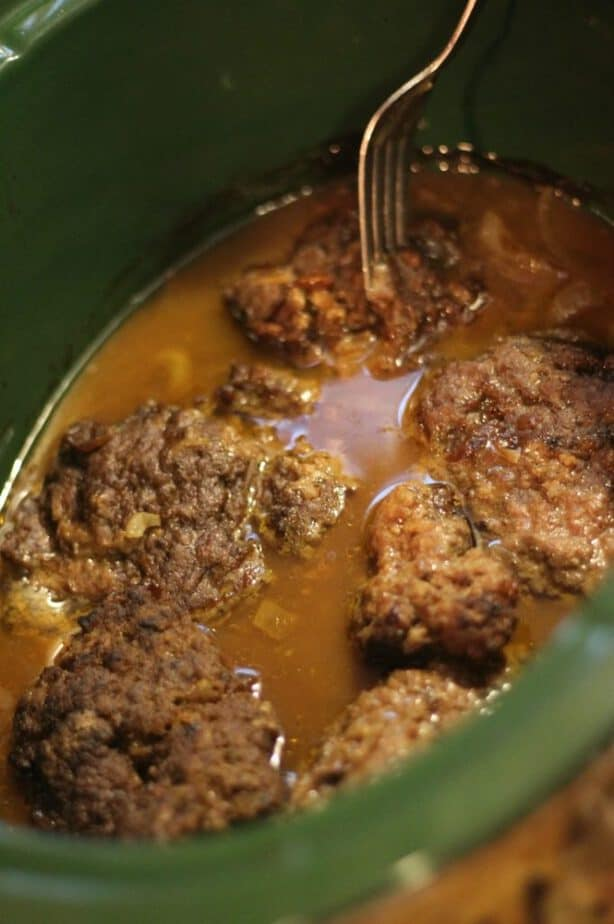 salisbury steak gravy