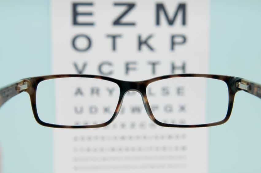 think about eyes glasses exam