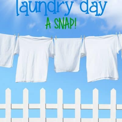 5 Ways to Make Laundry Day a Snap