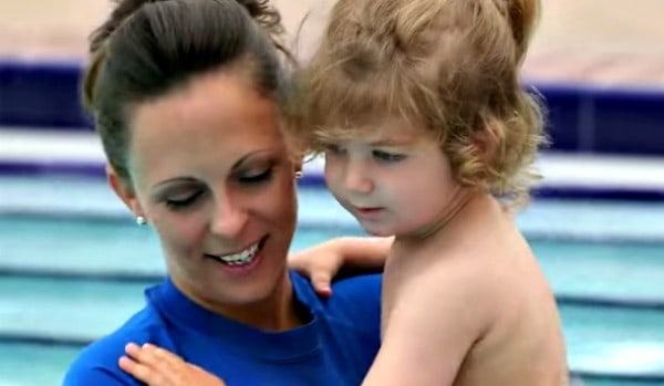 justina and child
