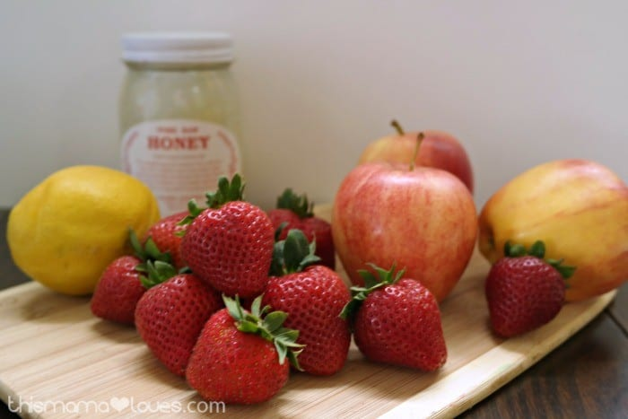 Homemade Healthy Fruit Roll Ups