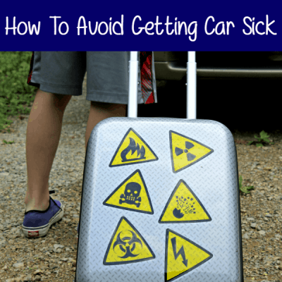 Five Tips To Avoid Getting Car Sick This Summer