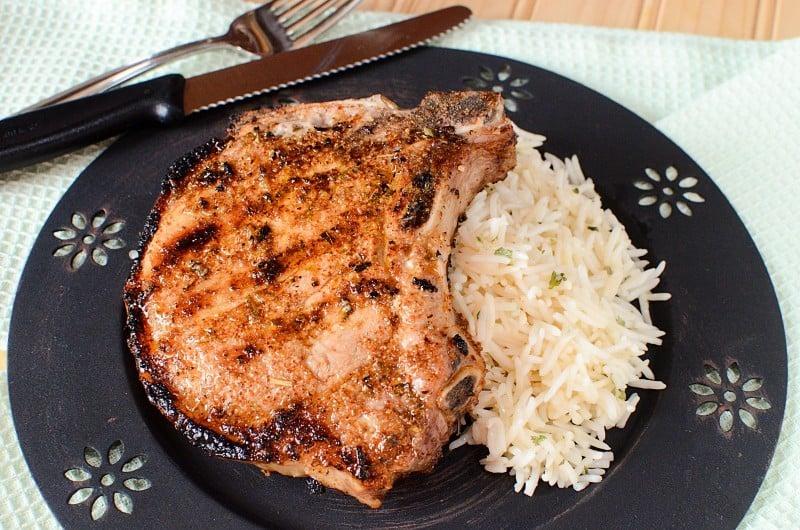 mojito lime porterhouse pork chops recipe/thismamaloves