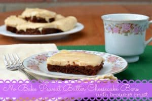 No-bake-peanut-butter-cheesecake-bars-with-brownie-crust-1024x678