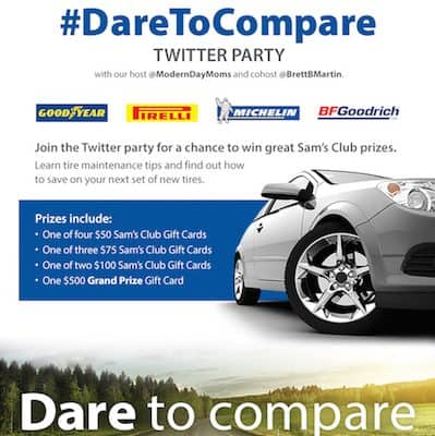 #DareToCompare #Twitter Party 6/3