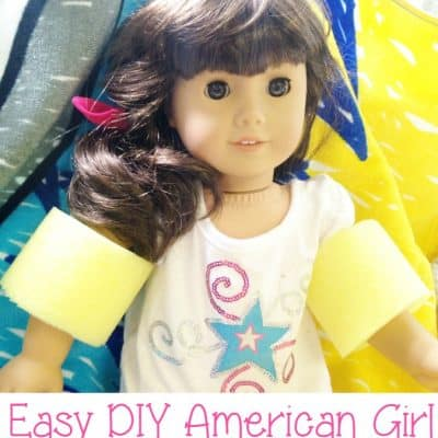 DIY American Girl Water Wings