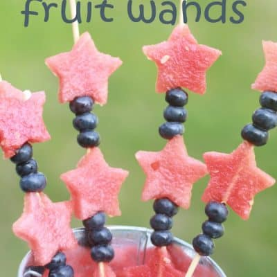 July 4th Fruit Wands