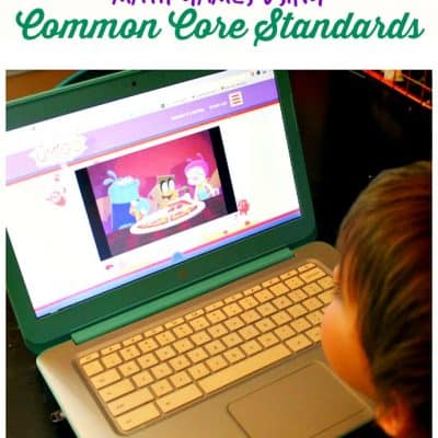 Math games using Common Core Standards