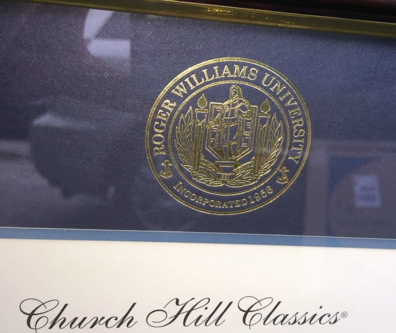 roger-williams-university-diploma-frame-seal