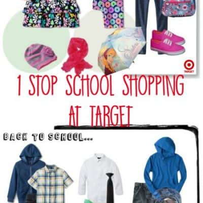Back-to-school shopping Is easy at Target
