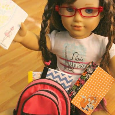American Girl Accessories- Notebooks