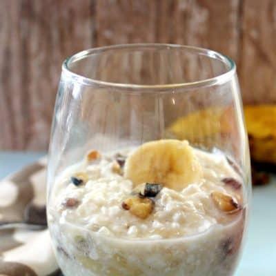 Banana Nut Bread Breakfast Bowl