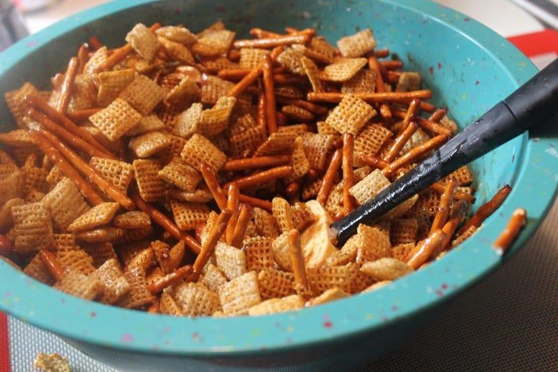 chex gluten free mix