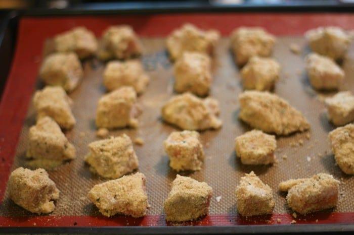 chicken nugget bake