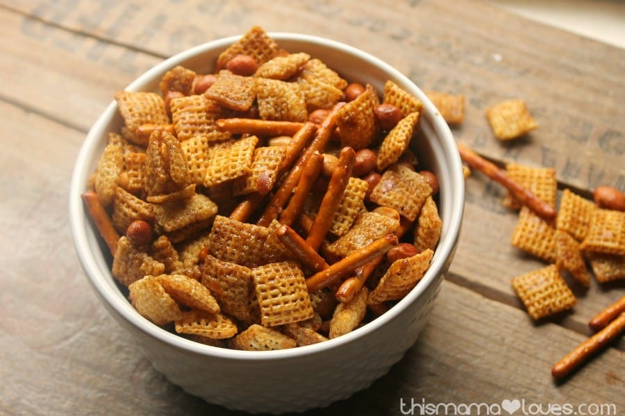 gluten free chex mix sweet and savory