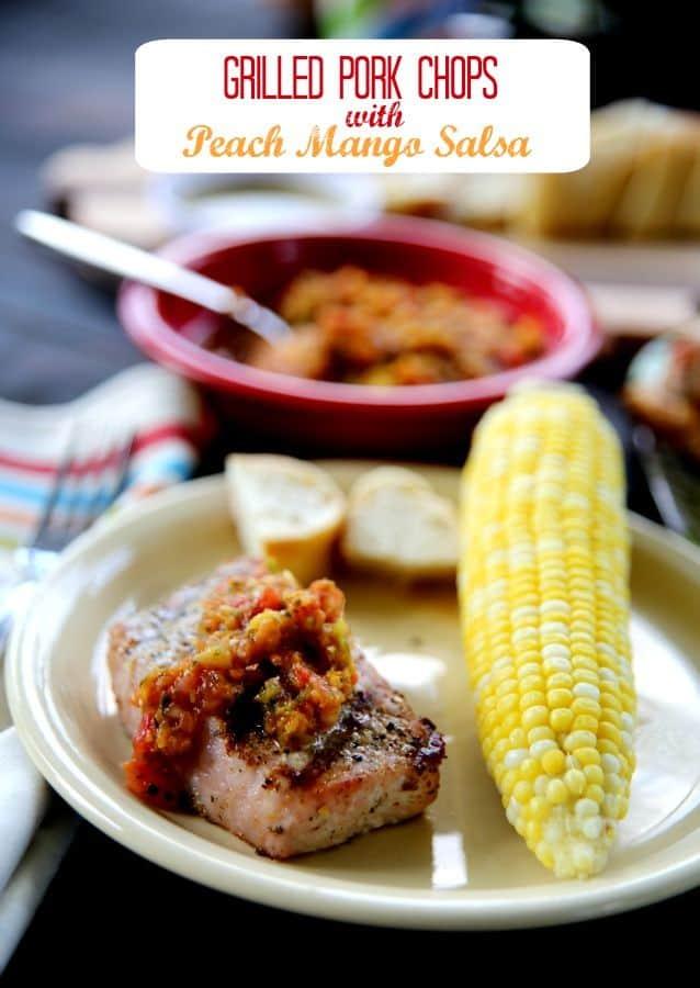 grilled-pork-chops-peach-mango-salsa