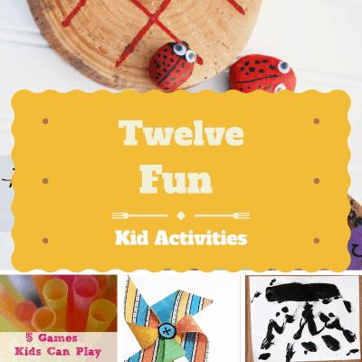 12 Fun Kids Activities