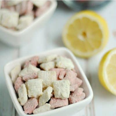 Lemon Berry Muddy Buddies