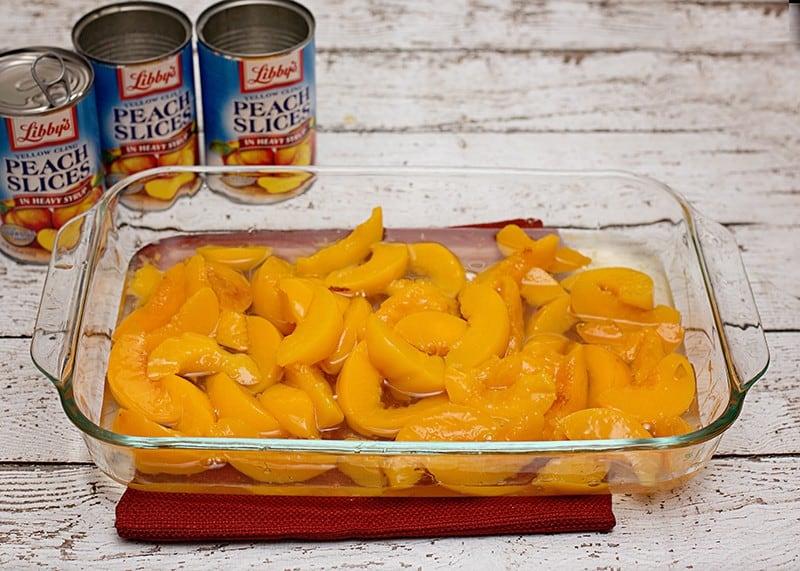 libbys cake peaches