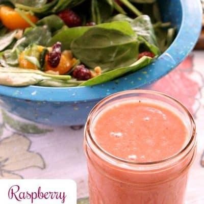 Raspberry Citrus Vinaigrette Dressing