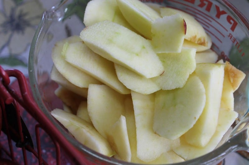 apple butter slices