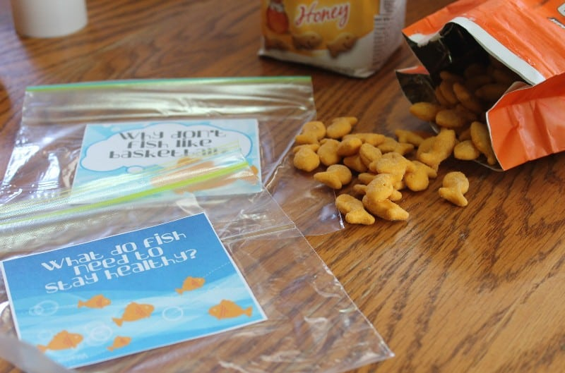 back to school lunch goldfish