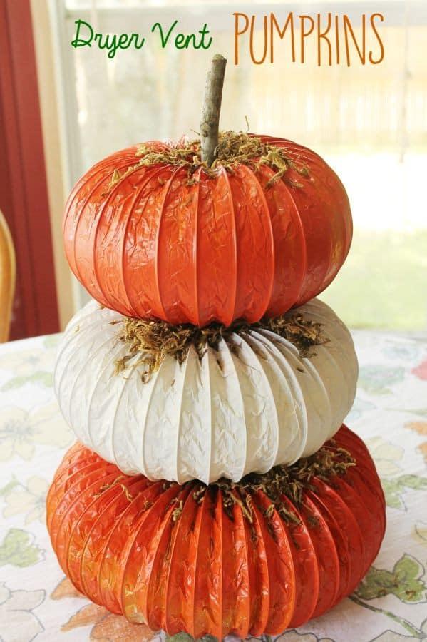 dryer vent pumpkins vert