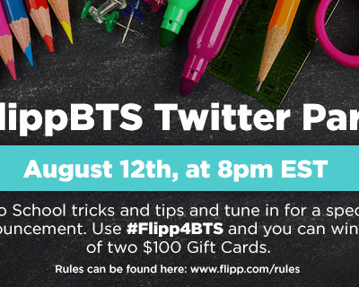 Join us for the #Flipp4BTS #TwitterParty 8/12