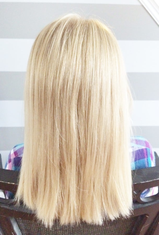 hair above