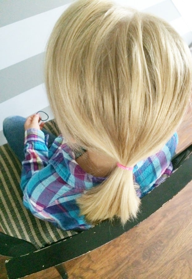 hair step 2