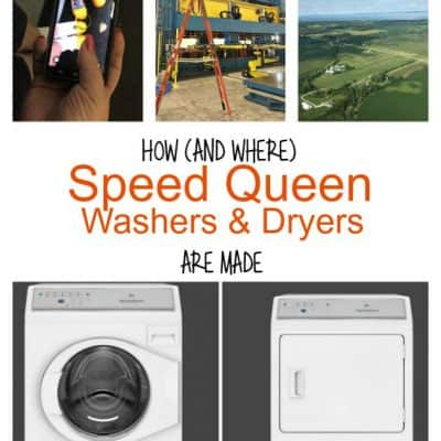 How Speed Queen Washers and Dryers are Made