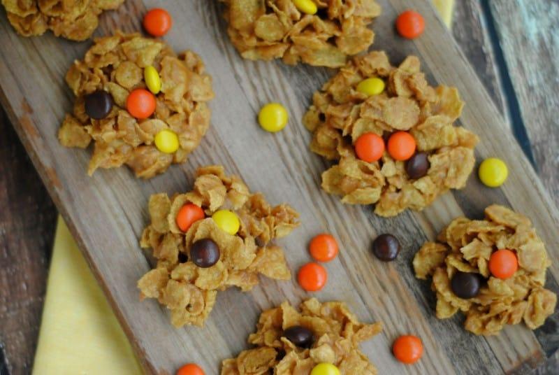 pb cornflake cookies horiz