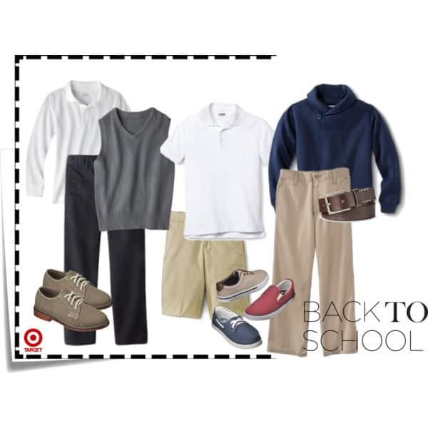 polyvore boys uniforms