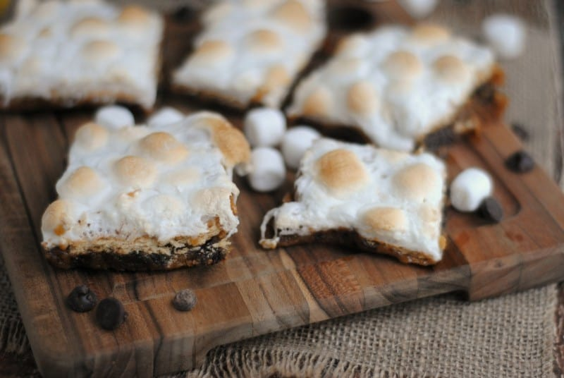 smores cookie bars 5