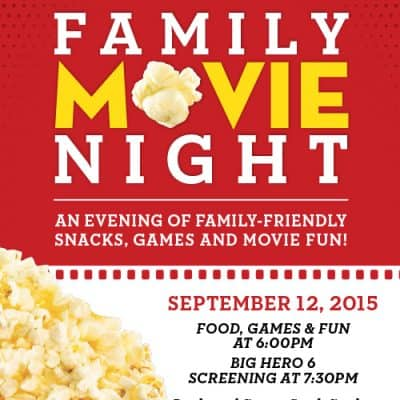 US Weekly's Family Movie Night #PopcornPartyTime